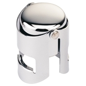 Champagne Stopper - Chrome-wine-TopShelf Liquor Online Nz