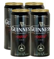 Guinness Draught Beer Cans 4 x 440ml, 4.2%-imported beer-TopShelf Liquor Online Nz