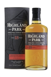 Highland Park 18yr Old Whisky 700ml, 43%-boxed liquor-TopShelf Liquor Online Nz