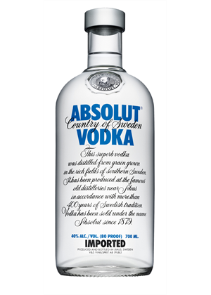 Absolut Pure Vodka 700ml, 40%