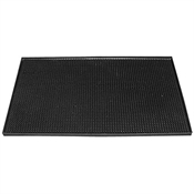 Black Rubber Bar Mat 450 x 300mm-accessories-TopShelf Liquor Online Nz