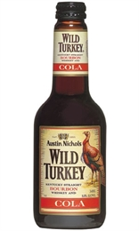 Wild Turkey & Cola Bottles 4 x 340ml, 6%-bourbon-TopShelf Liquor Online Nz