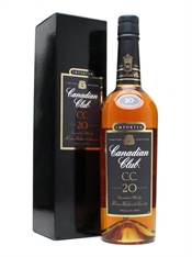 Canadian Club Whisky 20yr Old 750ml, 40%-other whisky-TopShelf Liquor Online Nz