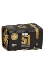 Barrel 51 Bourbon & Cola Cans 6 x 320ml, 7%-bourbon-TopShelf Liquor Online Nz