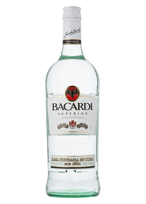 Bacardi Supirior Rum Bottle 3 litre, 40%