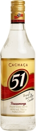 Cachaca 51 Sugar Cane Spirit 1 litre, 40% -cheap as-TopShelf Liquor Online Nz