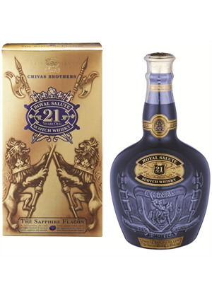 Chivas Royal Salute Whisky 21yr Old 700ml, 40%