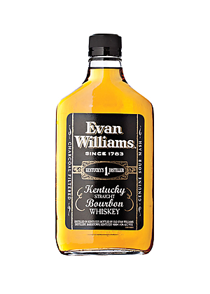 Evan Williams Black Label Bourbon 375ml, 43%