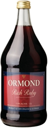 Ormond Rich Ruby Port 1.5 litre, 13.9%-port-TopShelf Liquor Online Nz