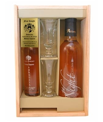 ... First Knight Ambrosia & Honey Wine Gift Pack-gift packs-TopShelf Liquor Online Nz
