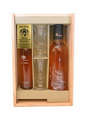 First Knight Ambrosia & Honey Wine Gift Pack - FIRST KNIGHT Gift Pack : White Wine-Other : TopShelf Liquor Online Alcohol Online Gift Delivery Nz