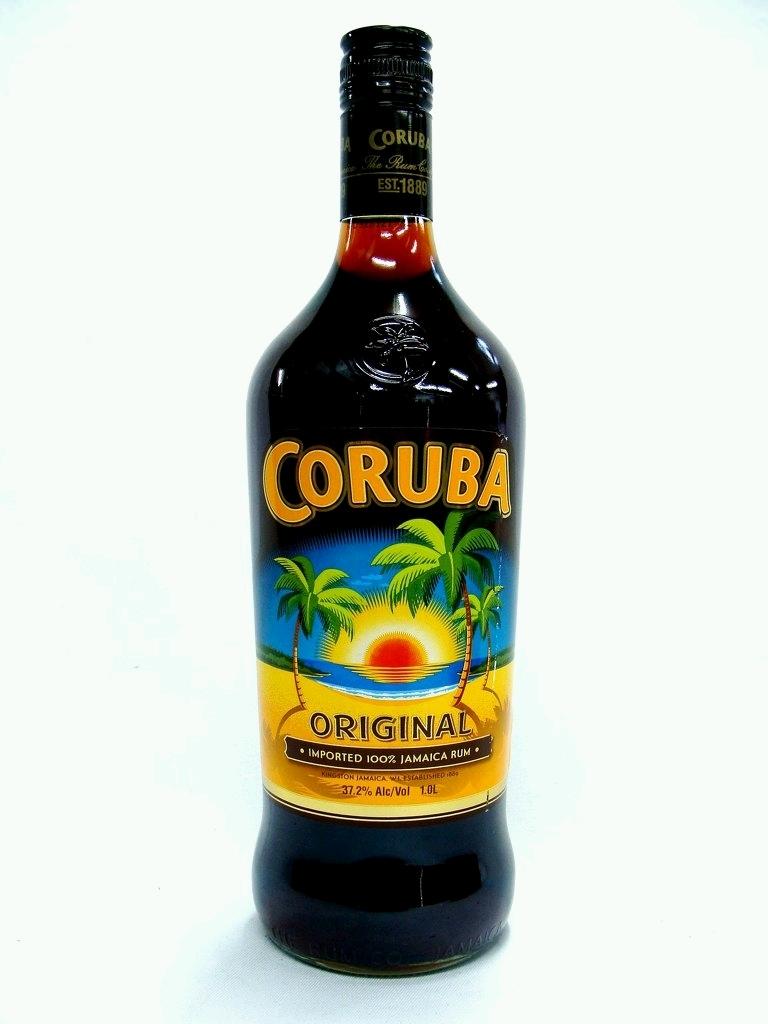 Coruba Dark Rum 4 5 litre Bottle, 37 2% - CORUBA 4500ml