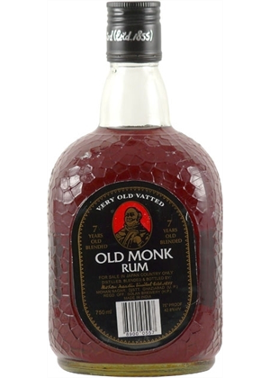 Old Monk Dark Rum 750ml, 38%