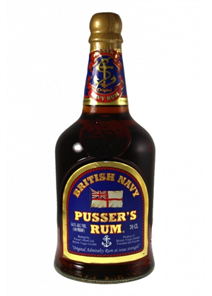 Pussers British Navy Rum 700ml, 42%