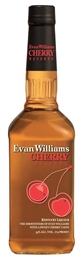 Evan Williams Cherry Bourbon 750ml, 35%-liqueurs-TopShelf Liquor Online Nz