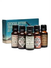 The Bitter Truth Travelers Set 5 x 20ml, 38.2%-mixers-TopShelf Liquor Online Nz