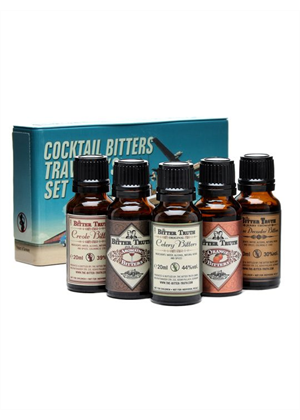 The Bitter Truth Travelers Set 5 x 20ml, 38.2%