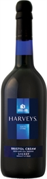 Harveys Bristol Cream Sherry 750ml, 17.5%-sherry-TopShelf Liquor Online Nz