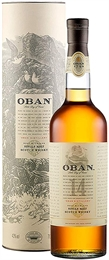 Oban Single Malt 14yr Old 700ml, 43%-single malts-TopShelf Liquor Online Nz