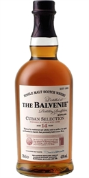 Balvenie Cuban Selection 14yr Old 700ml, 43%-single malts-TopShelf Liquor Online Nz