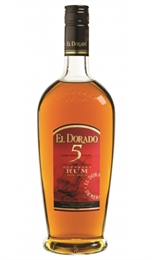 El Dorado Gold Rum 5yr Old 700ml, 40%-rum-TopShelf Liquor Online Nz