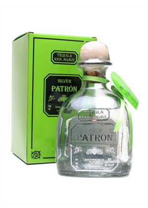 Patron Silver Tequila 375ml, 40%