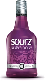 Sourz Blackcurrant Liqueur 700ml, 15%-liqueurs-TopShelf Liquor Online Nz