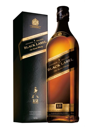 Johnnie Walker Black 12yr 1 litre, 40%