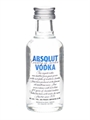 Absolut Vodka Miniature 50ml, 40%-vodka-TopShelf Liquor Online Nz
