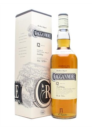Cragganmore Whisky 12yr Old 700ml, 40%