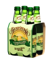 Bundaberg Lemon Lime & Bitters 10 x 340ml-mixers-TopShelf Liquor Online Nz
