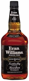 Evan Williams Black Label Bourbon 1.75 litre, 43%-bourbon-TopShelf Liquor Online Nz