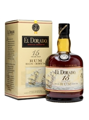 El Dorado Res Rum 15yr Old 700ml, 43%-boxed liquor-TopShelf Liquor Online Nz