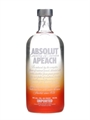 Absolut Apeach Vodka 700ml, 40%-vodka-TopShelf Liquor Online Nz