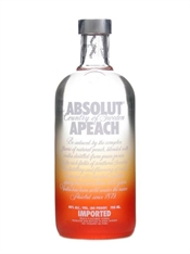 Absolut Apeach Vodka 700ml, 40%