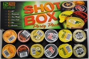 Shot Box Party Pack 12 x 30ml, 20%-party supplies-TopShelf Liquor Online Nz