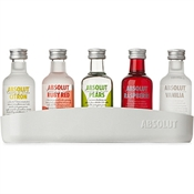 Absolut Vodka Miniature Set 5 x 50ml, 40%-gift packs-TopShelf Liquor Online Nz