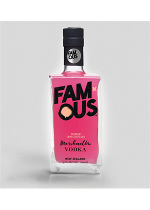 Famous Marshmallow Vodka 700ml, 37%