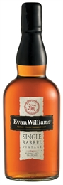 Evan Williams Single Barrel Vintage 750ml, 43.3%-boxed liquor-TopShelf Liquor Online Nz