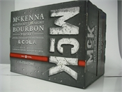McKenna & Cola Cans 12 x 250ml, 8%-bourbon-TopShelf Liquor Online Nz