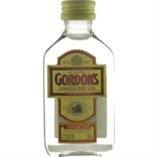 Gordons Gin Mini 50ml, 37.5%-gin-TopShelf Liquor Online Nz