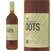 Sustainable Dots HB Rose 750ml, 13%-rose-TopShelf Liquor Online Nz