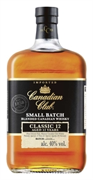 Canadian Club Small Batch 12yr Old 700ml, 40%-cheap as-TopShelf Liquor Online Nz