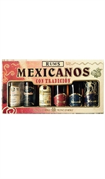 Ron Mocambo Rum Collectors Pack 6 x 50ml-cheap as-TopShelf Liquor Online Nz