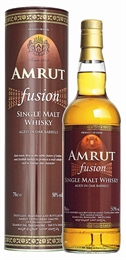 Amrut Fusion Single Malt Indian Whisky 700ml, 50%-single malts-TopShelf Liquor Online Nz