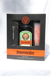 Jagermeister Gift Pack Shot Glasses & Pump 1750ml, 35%-cheap as-TopShelf Liquor Online Nz