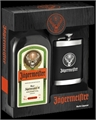 Jagermeister Gift Box Hip Flask 700ml, 35%-gift packs-TopShelf Liquor Online Nz