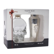 Crystal Head Vodka Gift Set with Shaker 700ml, 40%-barware-TopShelf Liquor Online Nz