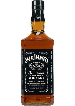 Jack Daniels No7 Whiskey 1 litre, 40%