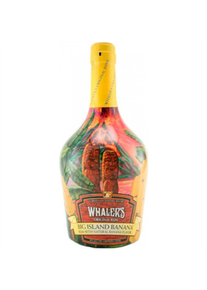 Whalers Big Island Banana Rum 750ml